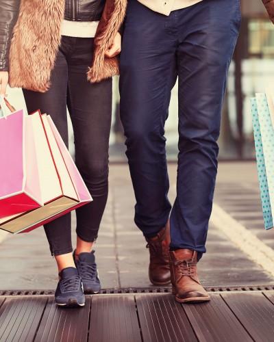Auf Shoppingtour mit Gott